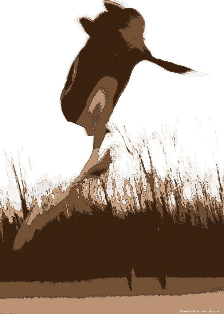 phantom - sepia rmx. by sas, bdl illustration